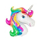 - Unicorn Şekilli Jumbo Folyo Balon