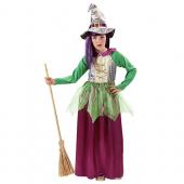 Widmann - Yeşil Mor Cadı Kostümü