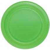 - Yeşil Plastik Tabak