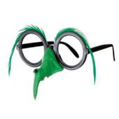 - Yeşil Tüylü Cadı Burnu ve Gözlüğü