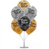 - Yılbaşı Balonları ve Balon Standı
