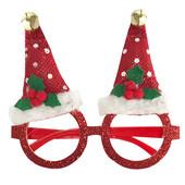 - Yılbaşı Şapkaları Kırmızı Gözlük