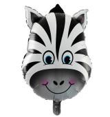 - Zebra Kafası Folyo Balon