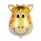 - Zürafa Kafası Folyo Balon